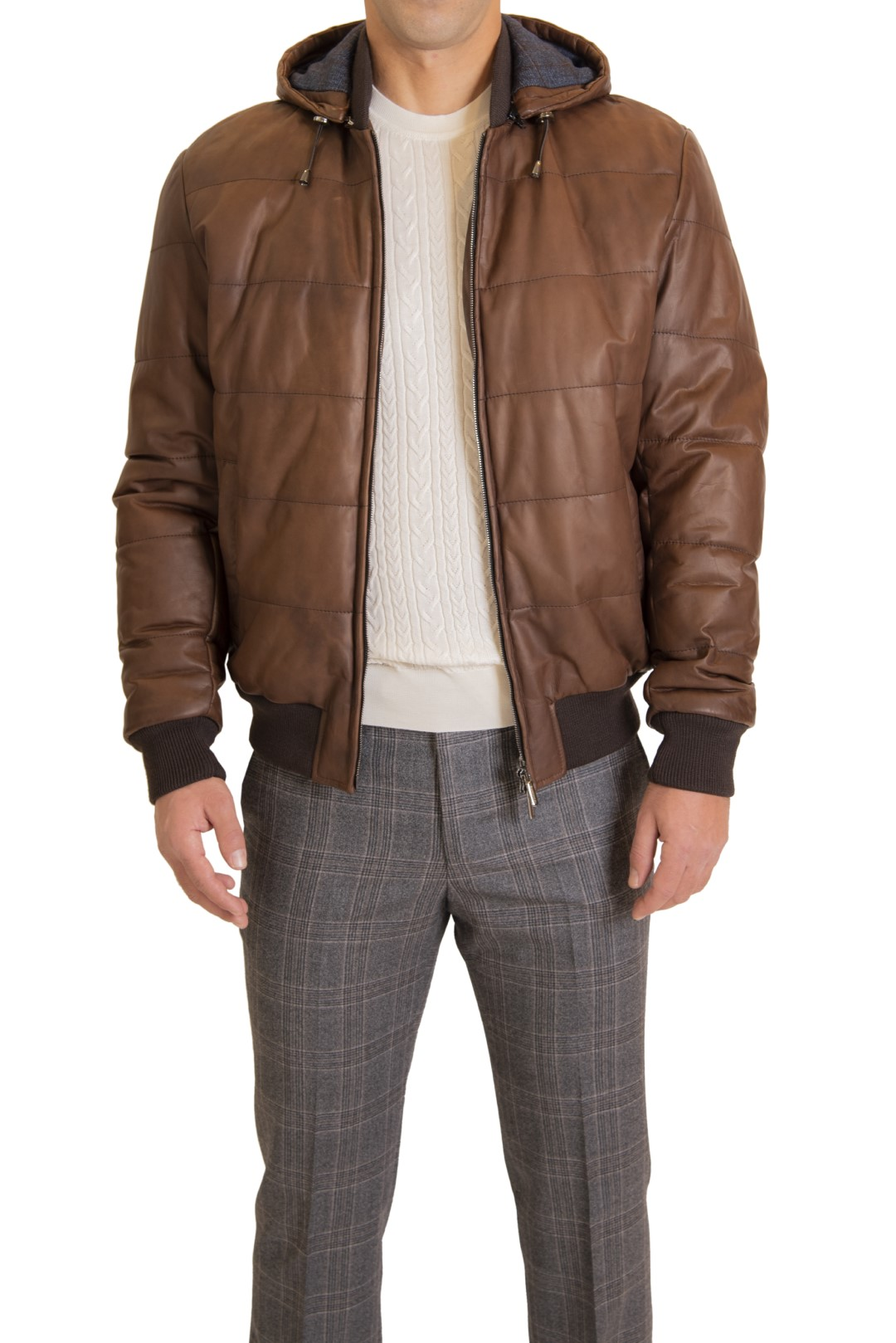 RAVAZZOLO LEATHER JACKET