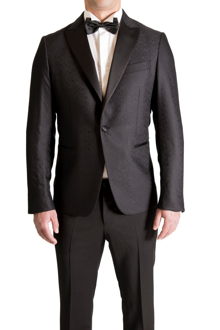 PAL ZILERI SMOKING SUIT - PAL ZILERI SHIRT - PAL ZILERI TIE BOW